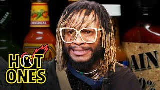 Thundercat Relives a Hot Sauce Nightmare While Eating Spicy Wings | Hot Ones