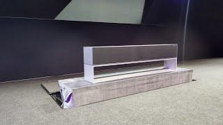 LG Signature Rollable OLED TV
