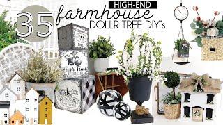 High End Farmhouse Dollar Tree DIYs | Dollar Tree 2020 DIYs | Dollar farmhouse DIYs on a budget