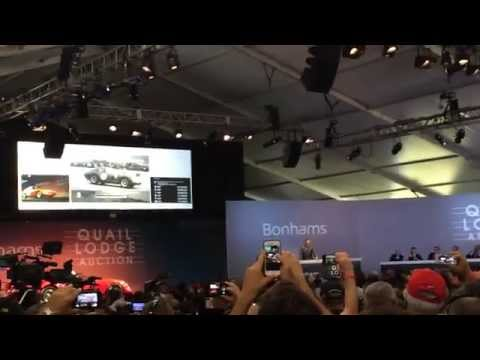 Most Expensive Car Sold at USA Auction 2014