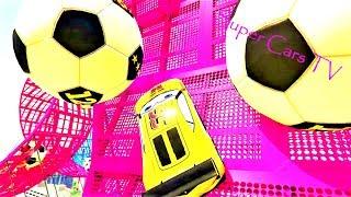 Super cars Cartoon for kids RACE Toys