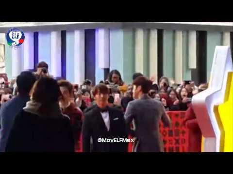 [Red Carpet - SMTOWN Coex Artium] Donghae, Leeteuk, Siwon & Henry