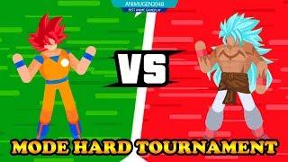 💛 GOSU SSJ GOD vs GOSU SSJ8 💛 STickman Warriors Fighter Street APK#2 | Unlock ALL Character #FHD