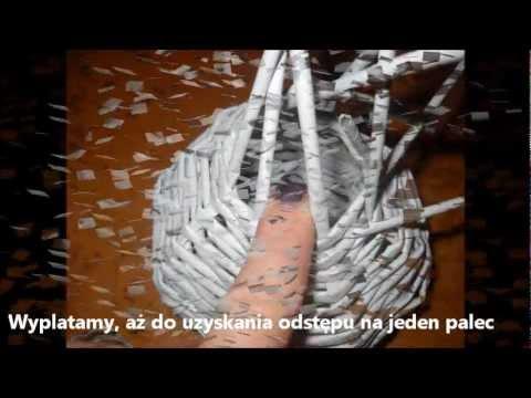 Jak zrobić bałwana z wikliny papierowej