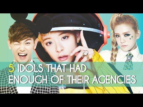 5 Kpop Idols That Had Enough Of Their Agencies