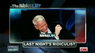The RidicuList: Cooper's case of giggles
