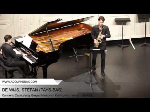 Dinant 2014 - DE WIJS, Stefan (Concierto Capriccio by Gregori Markovich Kalinkovich - v. DINANT)