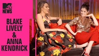 Blake Lively & Anna Kendrick on 'A Simple Favor' & Working w/ Paul Feig | CinemaCon | MTV News