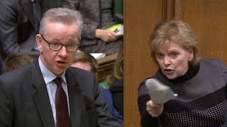 BREXIT: Anna Soubry left RED FACED after hilarious dig by Michael Gove leaves Commons in STITCHES