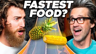 Which Food Is The Fastest? (Game)