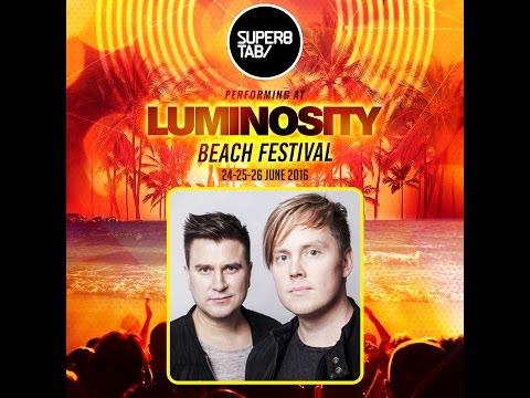 Super8 & Tab @ Luminosity Beach Festival 26-06-2016