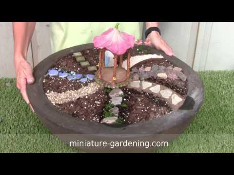 Fairy Garden Pathways - Video by Miniature-Gardening