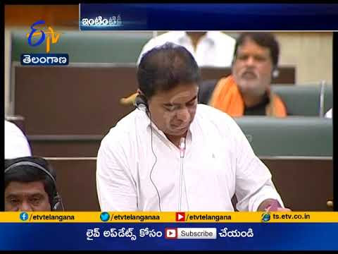 TS Assembly: KTR answers questions on Mission Bhagiratha