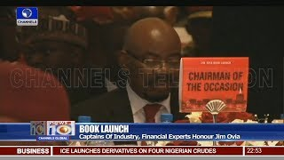 Captains Of Industry, Financial Experts Honour Jim Ovia At Book Launch 17/09/18 Pt.4 | News@10 |