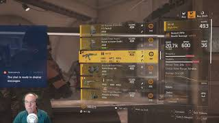 Grinding through Tier 5 of Tom Clancy's The Division 2
