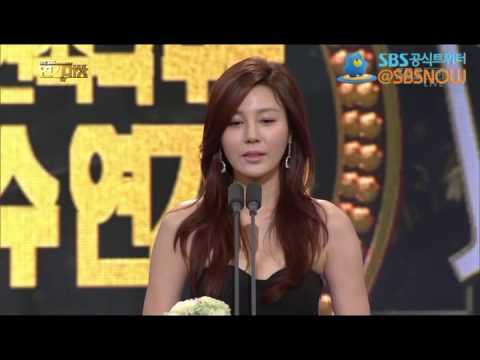 [최우수연기상 주말/연속극 부문 - 장동건, 김하늘] 2013 SBS 연기대상