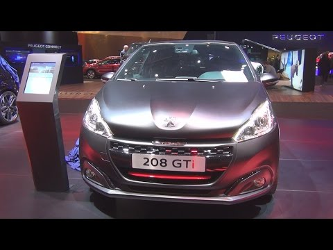 Peugeot 208 GTi THP Start&Stop (2016) Exterior and Interior in 3D