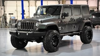 Davis AutoSports 2014 Jeep Wrangler Unlimited Sport JK Lifted For Sale