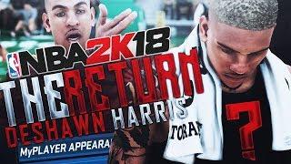 NBA 2K18 MyCAREER - DeShawn Harris RETURNS!!! NEW INTRO & INSANE CONTACT DUNK!!