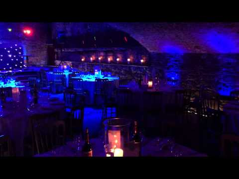 Mood Lighting at the Caves, Edinburgh
