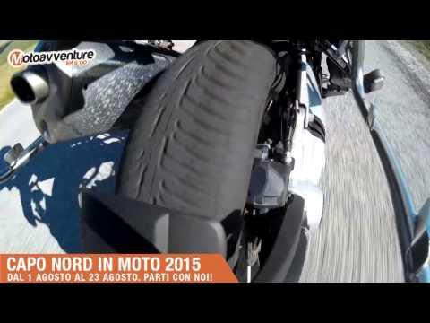 Capo Nord in moto 2015