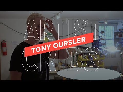 Artist Cribs: Tony Oursler's Multimedia Madhouse | SFMOMA Shorts