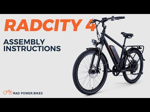 video RadCity 4 Electric Commuter Bike