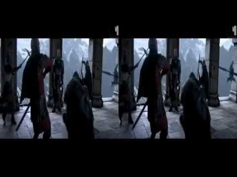 Assassins Creed 3 - Revelations - 3D Side by Side Trailer
