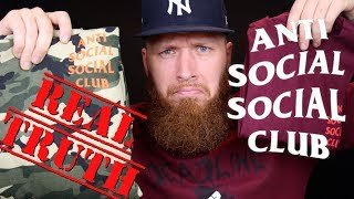 the REAL TRUTH about ANTI SOCIAL SOCIAL CLUB!!!