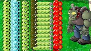 All Plants PvZ Hack vs All Zombie  Plants vs Zombies PvZ Mod
