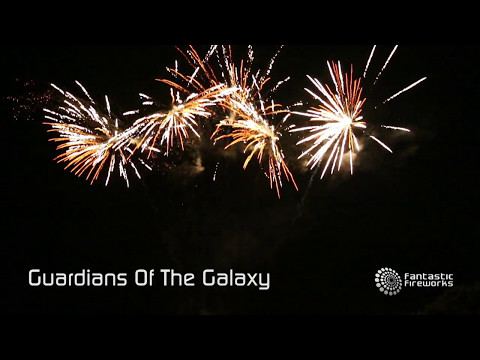 Fantastic Fireworks Guardians of The Galaxy - 25 shot firework