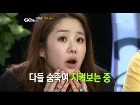 아이비의 '스프링 창법' 대공개! @GO SHOW 20120601