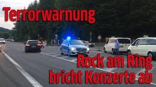 Rock am Ring 2017: Konzerte werden abgebrochen