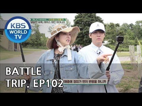 Battle Trip   배틀트립 – Ep.102 Hong gi X Hyorim's trip to Canada Part.2 [ENG/THA/2018.08.19]