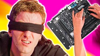 Blindfolded Gaming PC Build CHALLENGE!