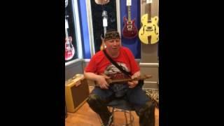 Zaza Korinteli & ZumbaLand - Play Phanduri at Guitar Center in NY Cityeah