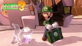 Luigi's Mansion 3 EXCLUSIVE Gameplay - Nintendo Switch