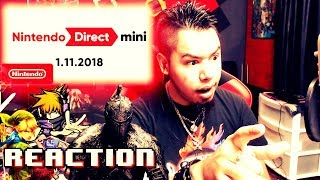 Nintendo Direct Mini 1.11.2018 REACTION!