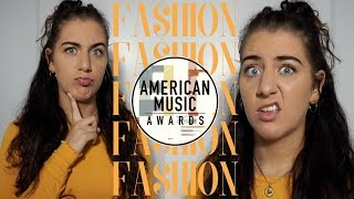 reviewing the fashion from the 2018 AMAs