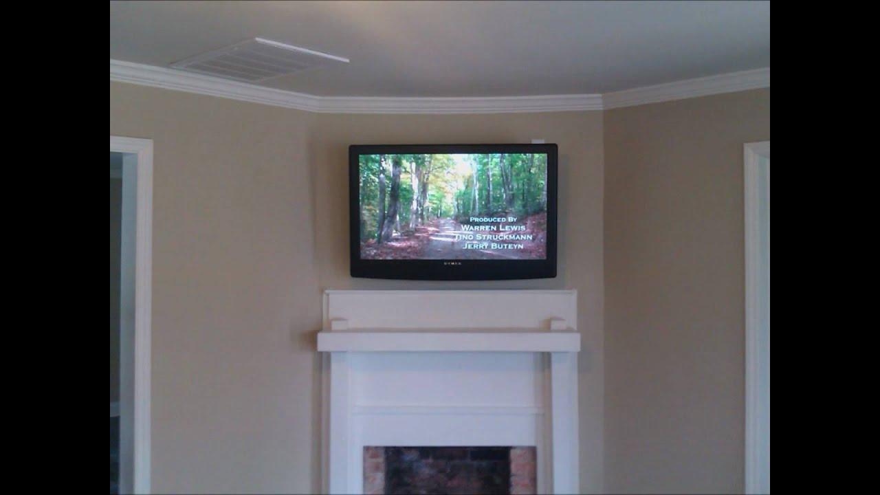 Fireplace Tv Wall Mounting Service Charlotte Nc 704 905 2965 Http Tvmountcharlotte Com Youtube
