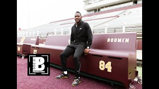 Antonio Brown Returns To Central Michigan University (Buys Heated Benches)