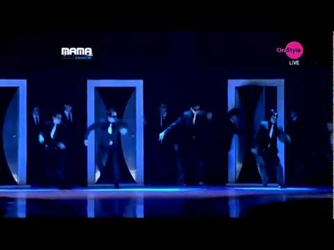 Super Junior - Super Man, Mr. Simple and Sorry sorry - MAMA Awards 2011