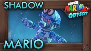 Shadow Mario in Super Mario Odyssey