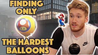 Finding Only The Hardest Balloons in Luigi's Balloon World! - Super Mario Odyssey