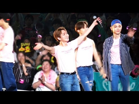 180728 SMTOWN LIVE in Osaka, Ending - ONEW Focus