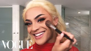Brazilian Pop Star Pabllo Vittar's Spectacular 15-Minute Drag Transformation   Beauty Secrets