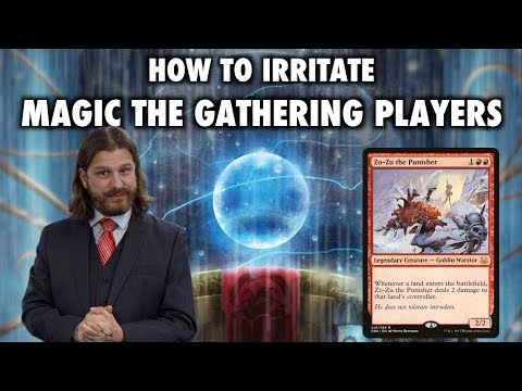 How To Irritate Magic: The Gathering Players at Commander: Zo-Zu The Punisher EDH