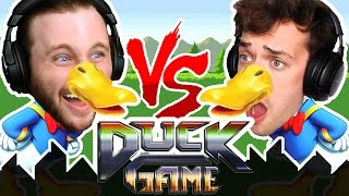 ONE VS ONE DUCK GAME | DUCK SUIT IN PUBLIC?