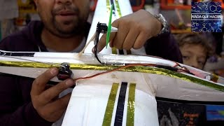 Convirtiendo planeador de juguete, a Radio Control |NQUEH