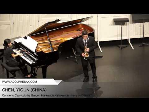 Dinant 2014 - CHEN, YIQUN (Concierto Capriccio by Gregori Markovich Kalinkovich - Version DINANT)